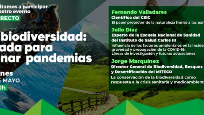 Primer encuentro del ciclo organizado por la Fundación Biodiversidad.