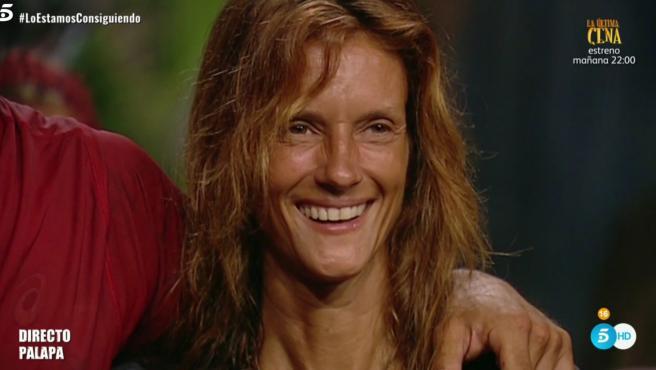 Elena Rodríguez, en 'Supervivientes 2020'.