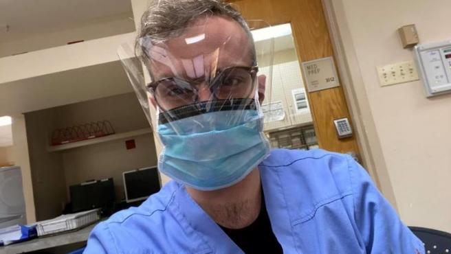 El enfermero William Coddington, hallado muerto en su coche en Florida (EE UU).