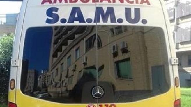 Imagen de una ambulancia SAMU, de archivo.