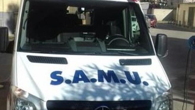 Imatge d'arxiu d'un SAMU.