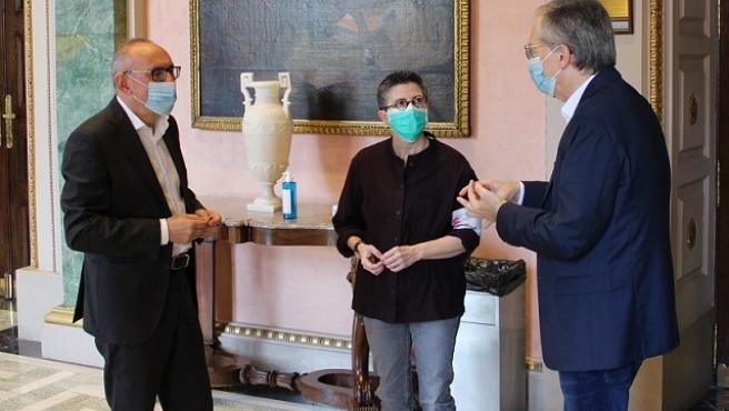 Ramiro González agradece a Médicos sin Fronteras su asesoramiento a las residencias alavesas sobre prevención y control del COVID-19