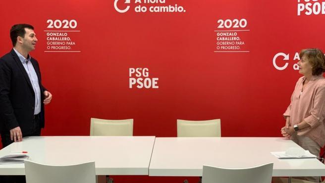 El secretario xeral del PSdeG, Gonzalo Caballero.