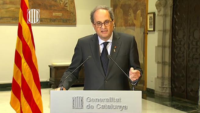 Torra urgirá a Sánchez este domingo a cumplir 40 medidas sobre Catalunya