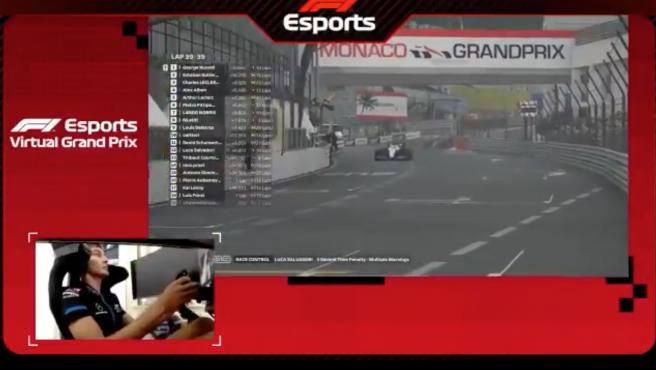 GP Mónaco virtual