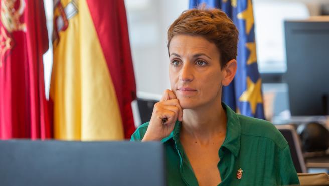 María Chivite, presidenta del Gobierno de Navarra