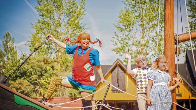 Imagen de Pippi Calzaslargas facilitada por la Fundación Astrid Lindgren.