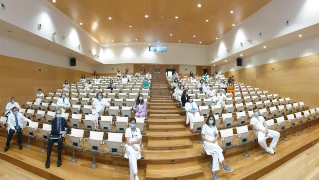 Acto de graduación del residentes en el Hospital Son Llàtzer.