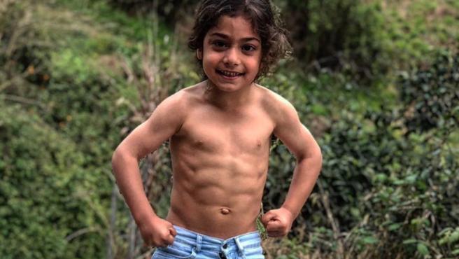 El niño prodigio Arat Hosseini.