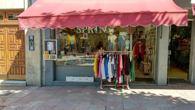 Comercio minorista en Oviedo.