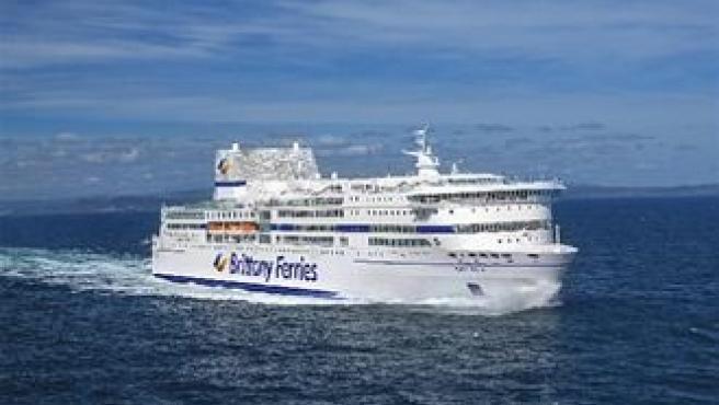 Ferry de la compañía Brittany Ferries