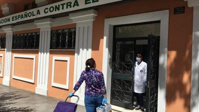 La AECC en Málaga reabre su sede a partir de este lunes