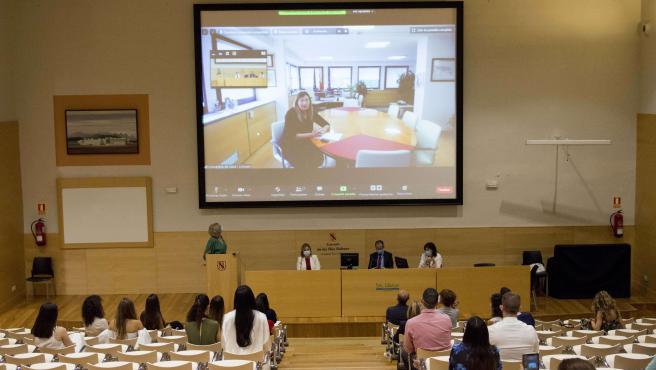 La consellera Patricia Gómez participa en el acto de graduación de la decimosexta promoción de la Unidad Docente de Enfermería Obstetricoginecológica de Baleares.