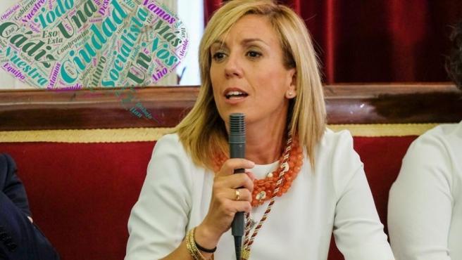 Mara Rodríguez, portavoz del PSOE en el Ayuntamiento de Cádiz