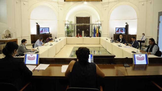 Reunión de la Comisión de Administración Pública