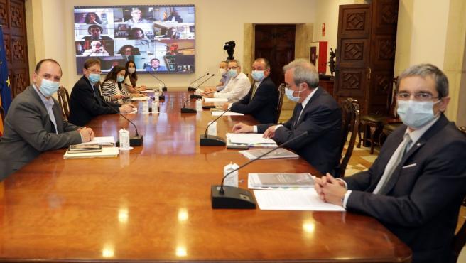 Reunión Mesa del Diálogo Social