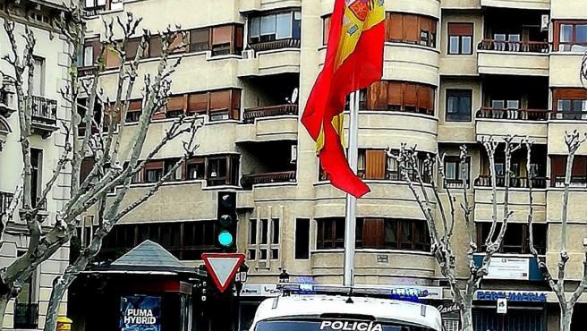 Vehículo de la Policía Local de Albacete