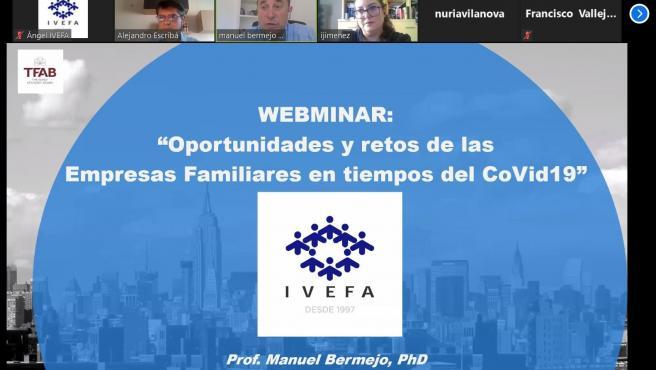 Webinar 'Oportunidades y retos de empresas familiares en tiempos de la Covid-19'