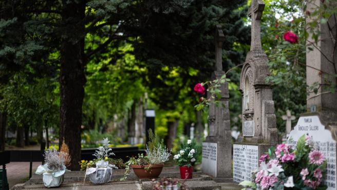 Apertura de los Cementerios en Euskadi. Cementerio de Santa Isabel en Vitoria-Gasteiz