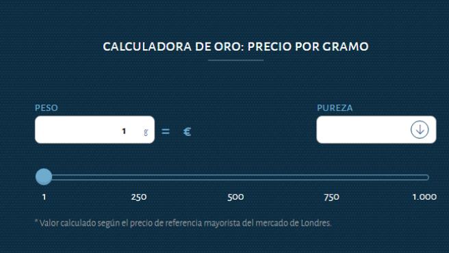 Calculadora de la OCU.