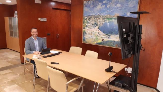 El alcalde de Palma, José Hila, participa en el consejo de administración de Patrimonio Nacional