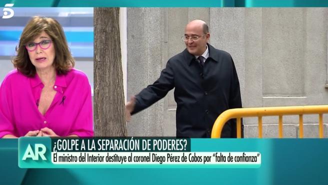 Ana Rosa Quintana arremete contra el Gobierno en su discurso inicial.