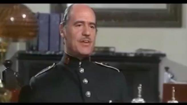 Escena de la película 'Guerreras verdes' dirigida por Ramón Torrada y estrenada en 1976.