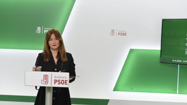 La parlamentaria andaluza del PSOE-A Verónica Pérez, en una imagen de archivo