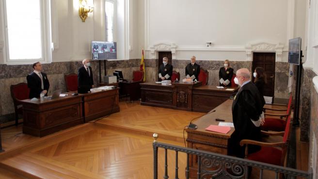 Vista de apelación contra la sentencia que condenó a José Enrique Abuín Gey a prisión permanente revisable. EFE/Cabalar POOL