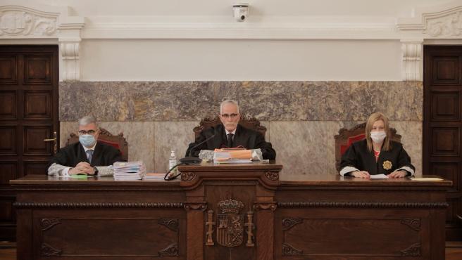 Vista de apelación contra la sentencia que condenó a José Enrique Abuín Gey a prisión permanente revisable por el crimen de Diana Quer.