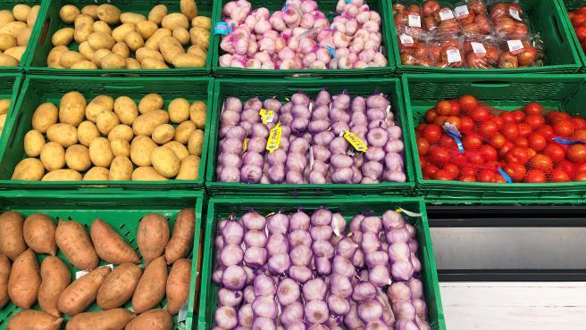 Ajo seco disponible en la sección Fruta y Verdura de Mercadona