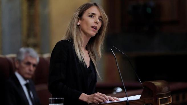 La portavoz del Grupo Popular, Cayetana Álvarez de Toledo.