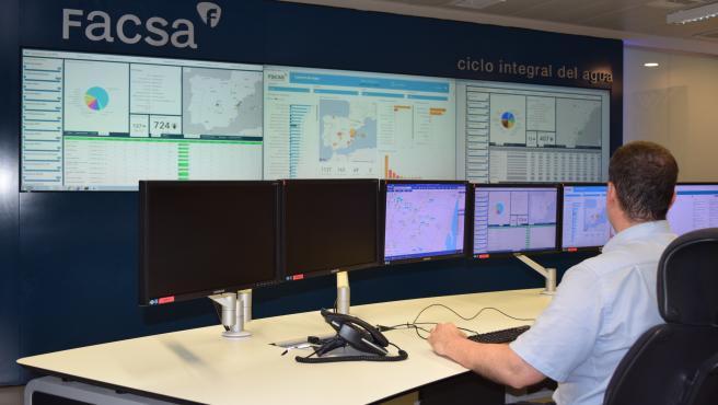 Centro de telecontrol de Facsa