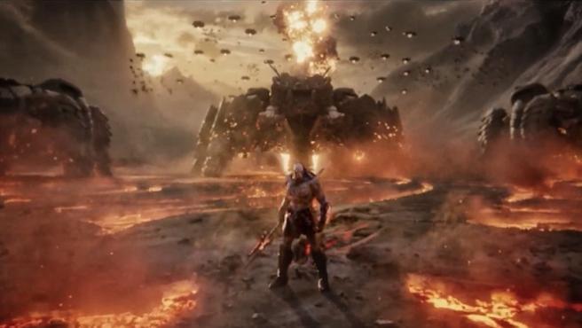 Zack Snyder enseña al Darkseid de 'Liga de la Justicia: Snyder Cut'