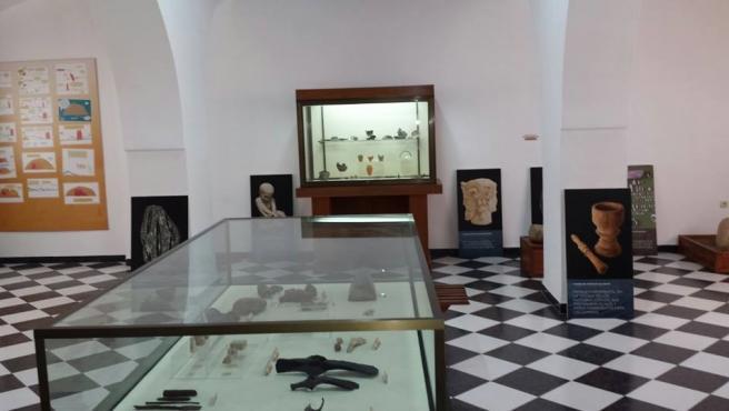 Interior del Museo Histórico y del Territorio Minero de Belmez.