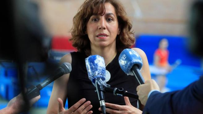 La presidenta del Consejo Superior de Deportes, Irene Lozano.