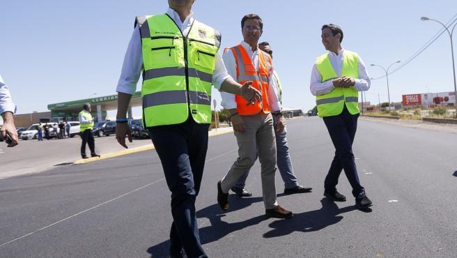 Obras de mejora en carreteras de El Ejido