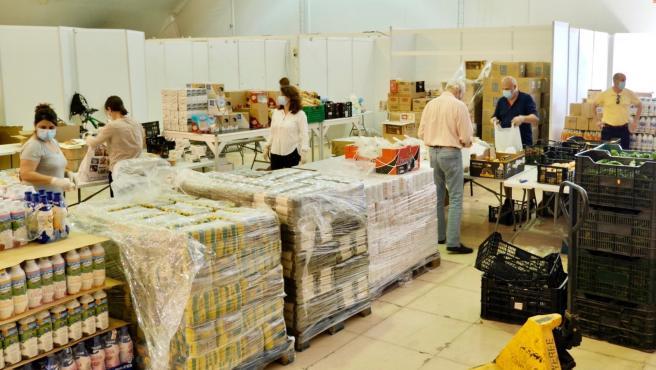 Reparto de alimentos para familias con necesidades de EStepona