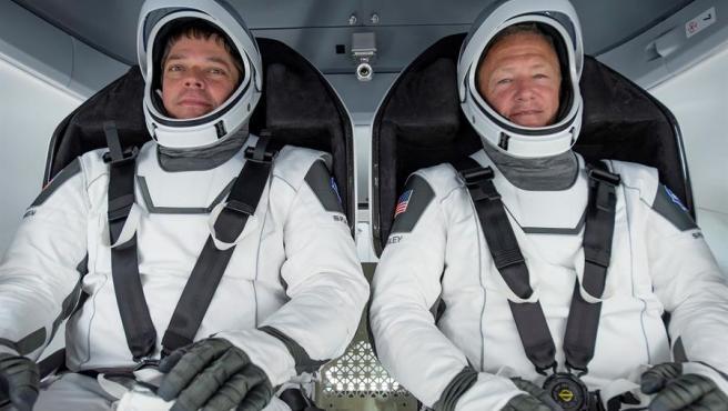 La NASA ha dejado la misión en las manos de dos de sus astronautas más experimentados.