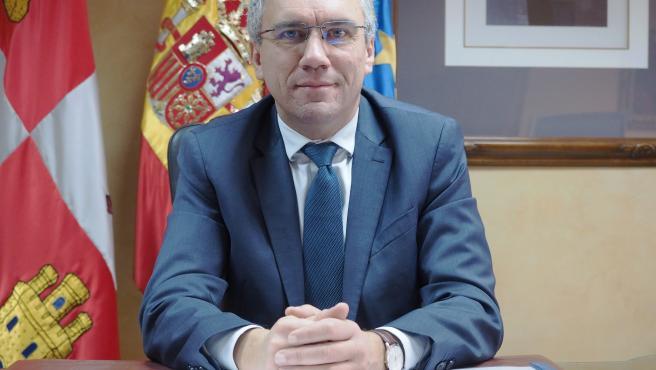 El delegado del Gobierno en Castilla y León, Javier Izquierdo.