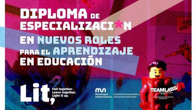 Imagen del curso sobre los nuevos roles en el aprendizaje educativo