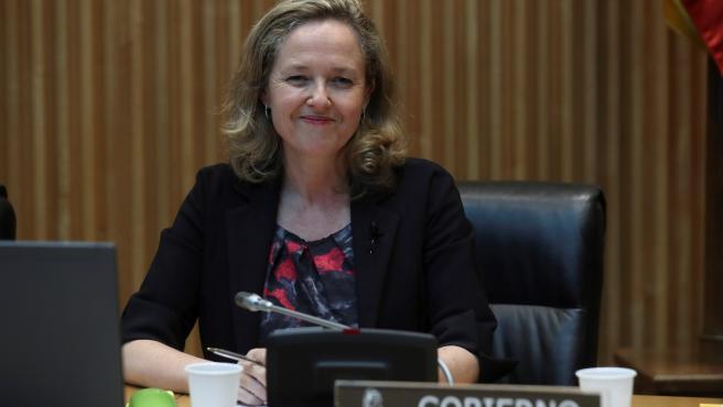 Nadia Calviño comparece ante Comisión