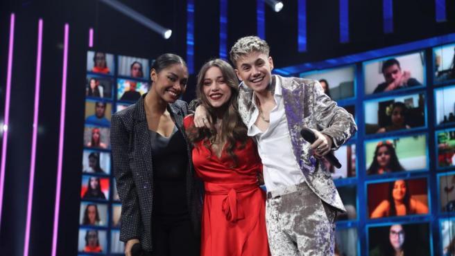 Nía, Eva y Hugo se convierten en los primeros finalistas de 'OT 2020'.