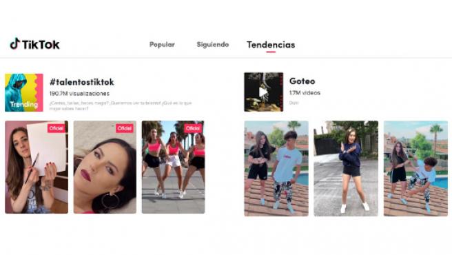 TikTok ha conquistado al público más joven y su popularidad se ha disparado.