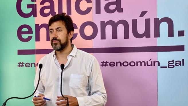 Antón Gómez-Reino, portavoz de Galicia en Común