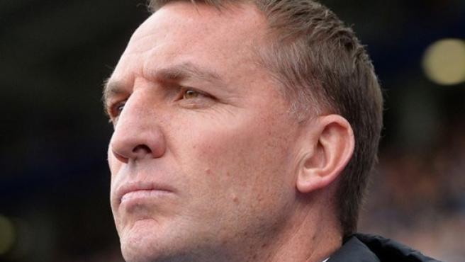 Brendan Rodgers, entrenador del Leicester.
