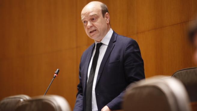 El diputado de Vox, Santiago Morón.