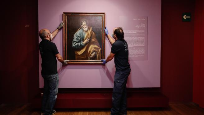 El Museo Goya se reabre el próximo martes y exhibe una nueva obra del Greco.