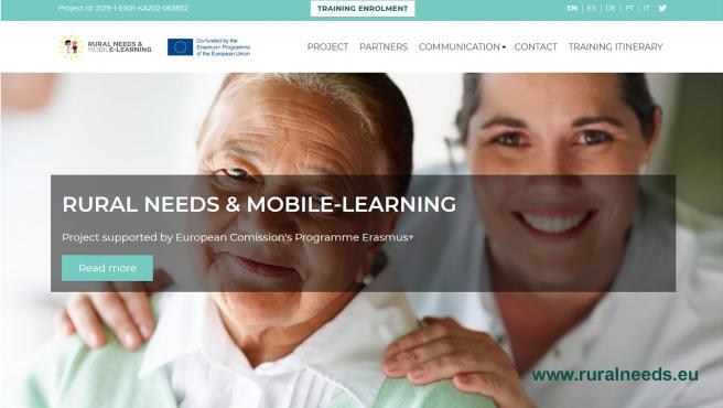 El proyecto 'Rural Needs & Mobile Learnin', promovido por Grupo San Valero, obtiene 'óptimos resultados' en primera fase.