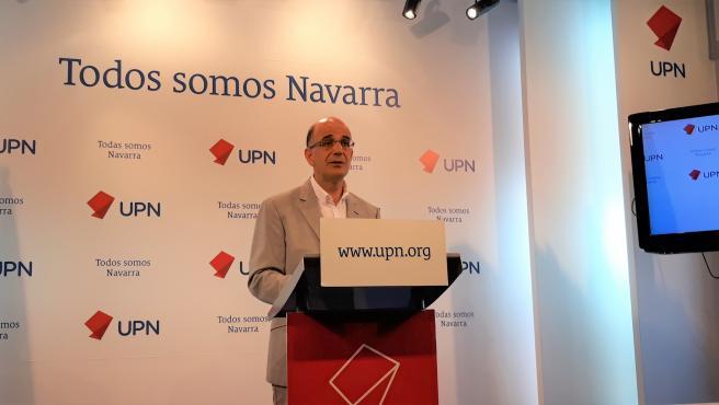 El senador de UPN Alberto Catalán.